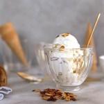 Toasted Almond Vegan Ice Cream