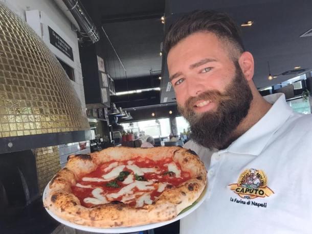 Pizza milano Vincenzo Capuano Rossopoodoro