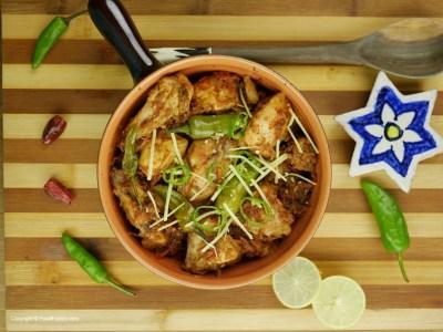 Chicken Koila Karahi Recipe – Food Fusion