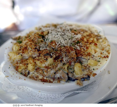 The blingiest mac and cheese at Mac Daddy - Foodhoe's Foraging
