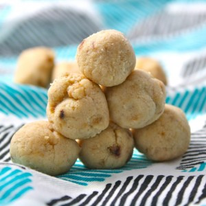 Bananas Foster Cookie Dough Bites