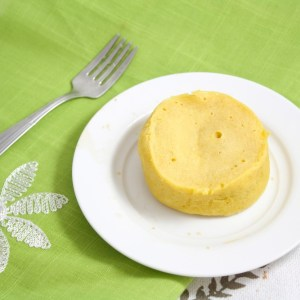 """All for One"" ""Corn""bread (Vegan, Gluten Free, Grain Free, Low Carb, Single Serving)"