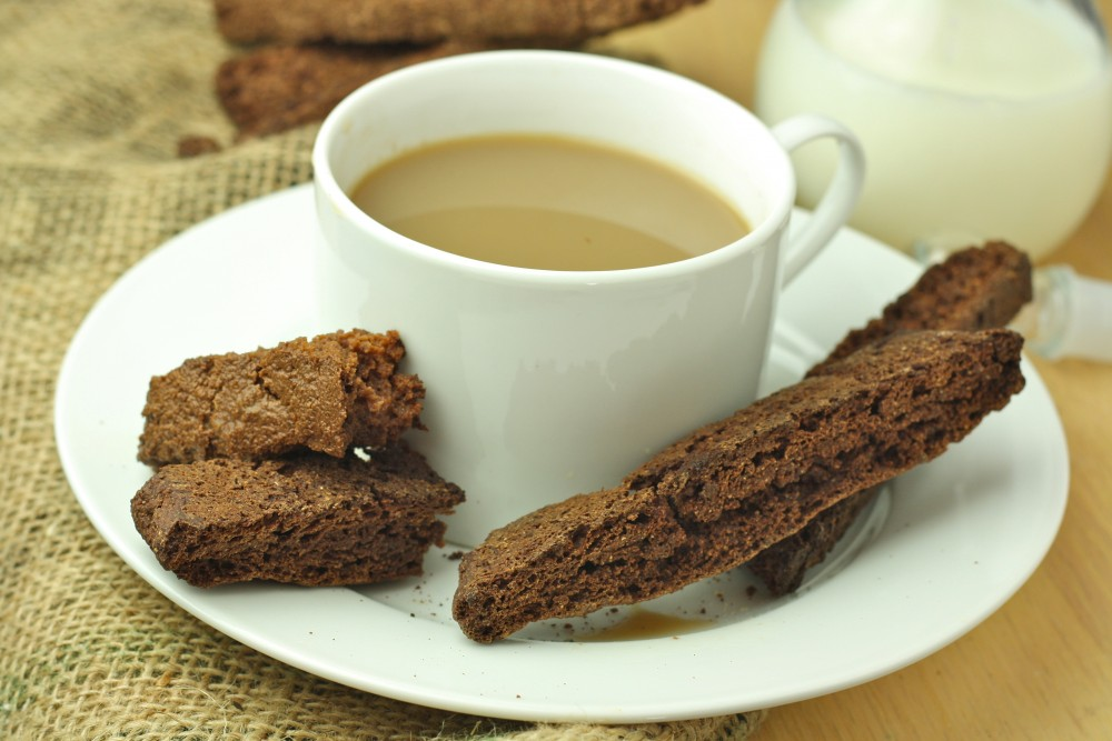 My Favorite Healthy Chocolate Biscotti (Paleo/Low Carb/Vegan/Gluten Free)