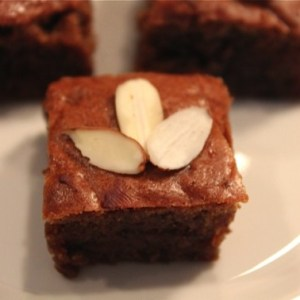"""Legally Blondies"" with Almond Butter (Paleo)"