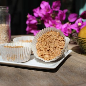Vanilla Wheat Bran Muffins