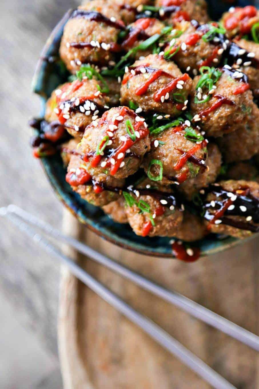Fullsize Of Asian Turkey Meatballs