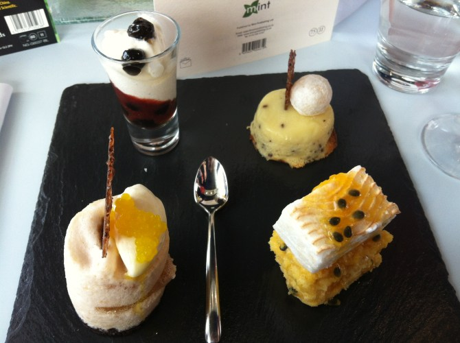 Light and Bubbly Afternoon Tea at Oxo Tower