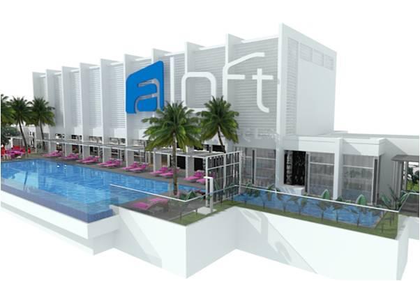 splash, the swimming pool @ Aloft Kuala Lumpur Sentral