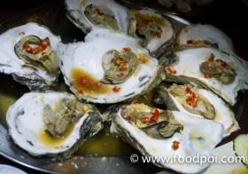 Dinner Eating Out In Sandakan, Restoran Seafood Sim Sim 88 at Sim Sim Water Village
