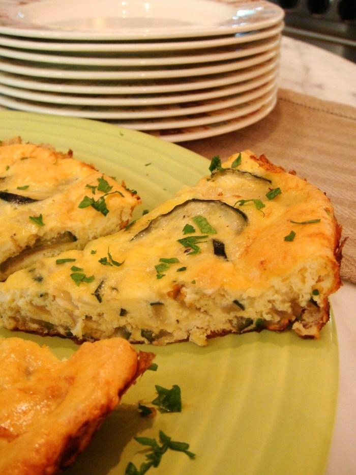 Zucchini and Onion Frittata Recipe | Food Republic