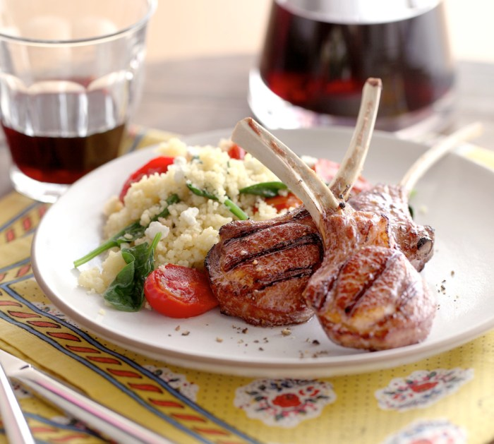 Lamb and couscous go together as naturally as chicken and noodles.