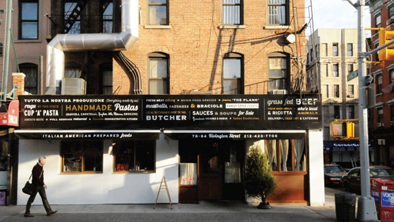 New York City: A Designer Gives Sauce Restaurant A Visual Identity