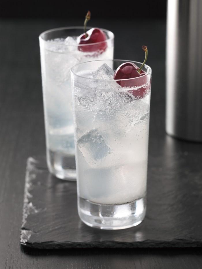 Cherry slice vodka cocktail recipe food republic for Tea with vodka recipe