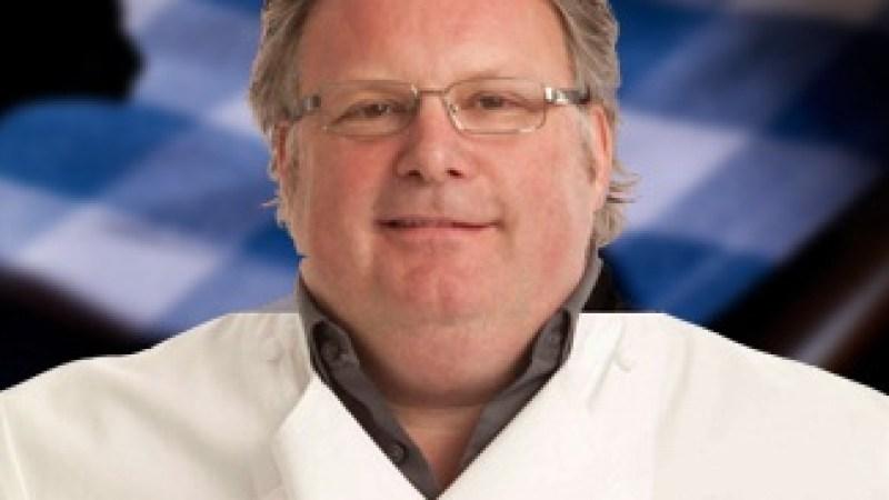 Chef David Burke uses Greek yogurt in both his grilled trout falafel and lobster salad.