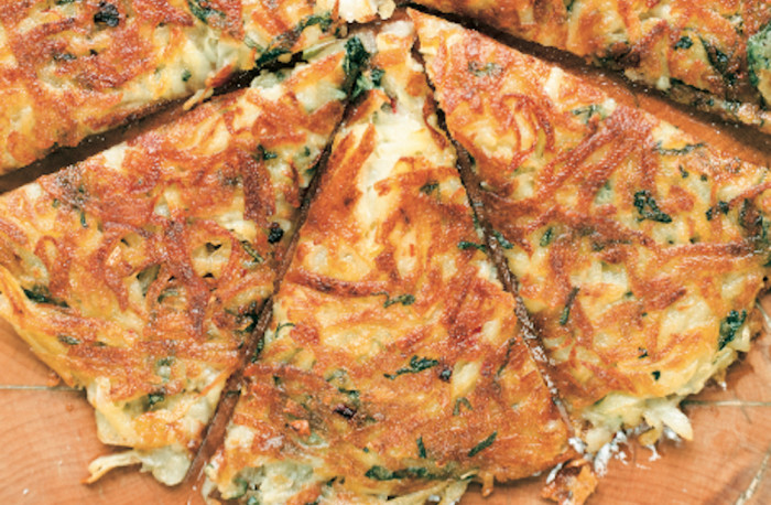Potato Galettes With Sage Recipe