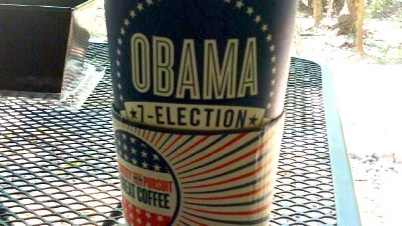Election Coffee Cup