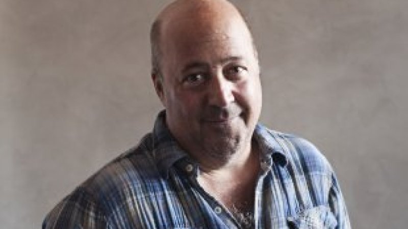 """""""It's official now: Yelp is on my shit list,"""" says Andrew Zimmern."""
