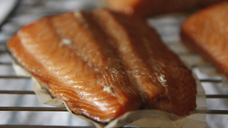 There's Smoked Salmon, And There's Hot Smoked Salmon