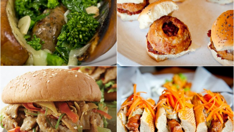 7 Ideas For Dinner Tonight: Dinner In A Bun