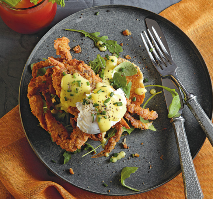 soft shell crab brunch