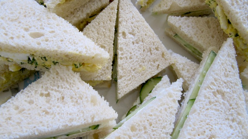 Are Grown-Ups Allowed To Eat White Bread Sandwiches?