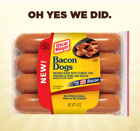 Just In Time For Cookout Season: Oscar Meyer Bacon Dogs
