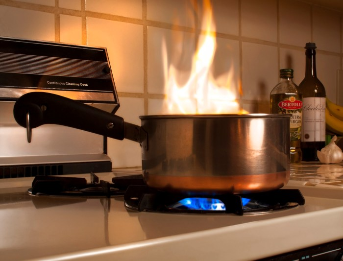 how do you put out a stovetop fire food republic