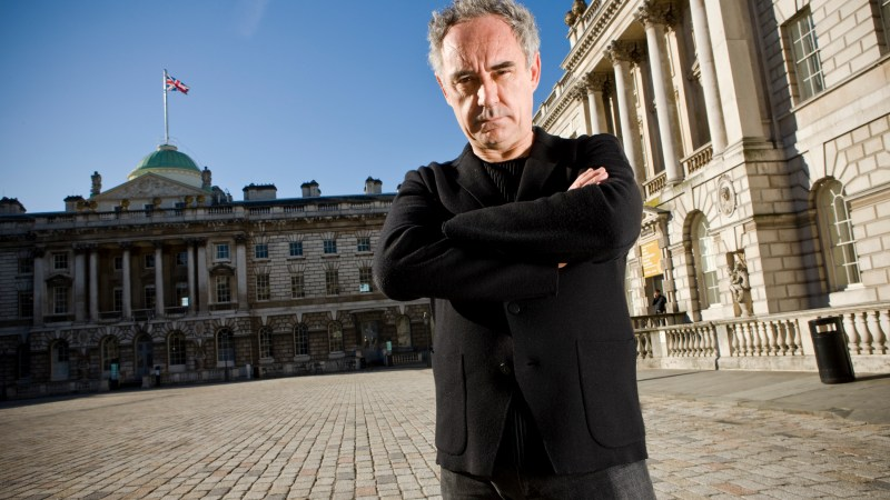 "Summer Travel: Ferran Adrià Brings His ""Art of Food"" To London's Somerset House"