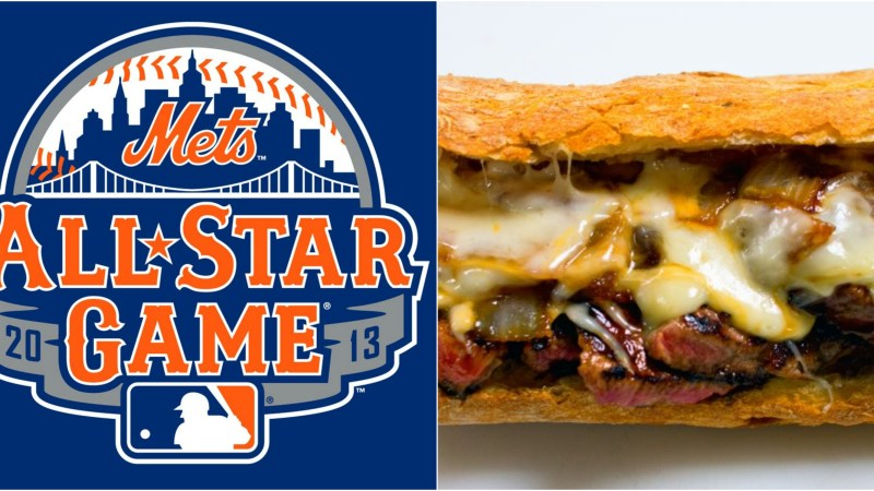 Take our suggestion and head to Pat LaFrieda's steak sandwich stand at this year's All-Star Game.
