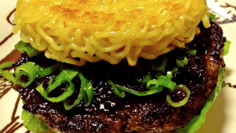 Is the ramen burger here to stay? Why is it so appealing? Questions, galore!