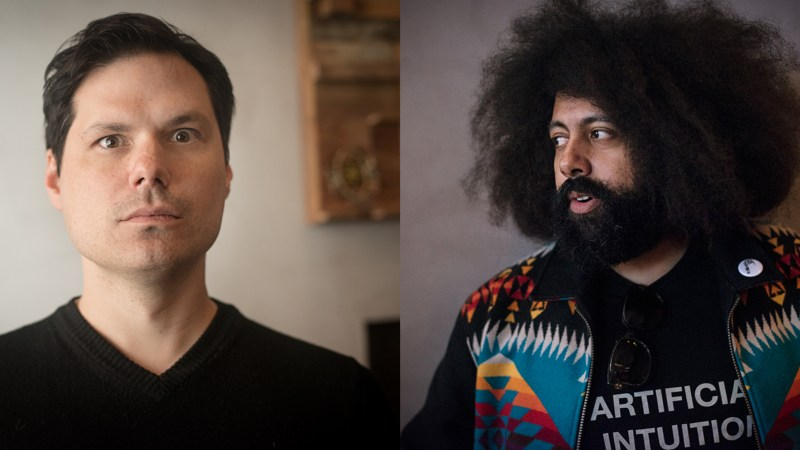 Michael Ian Black and Reggie Watts