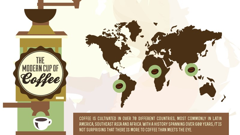 Infographic: How Coffee Is Taking Over Our Minds, Bodies And Wallets. All Of Us!
