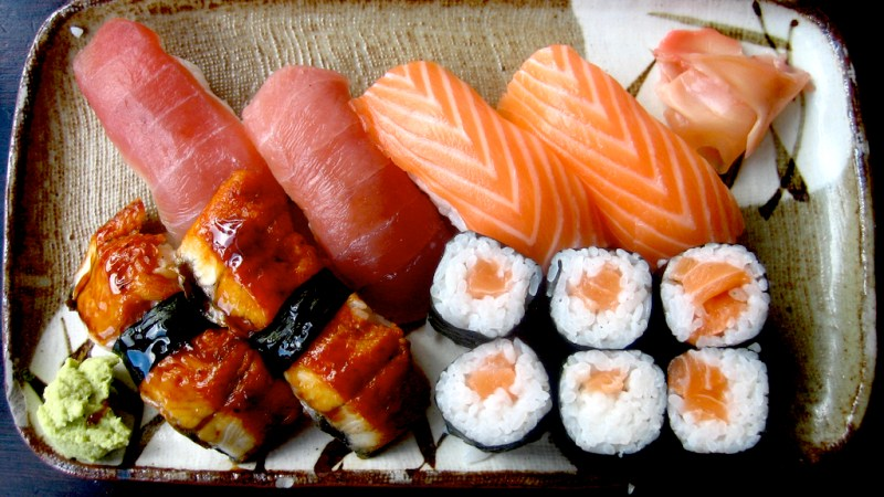 You Could Bribe 5-Year-Old Jess With Sushi