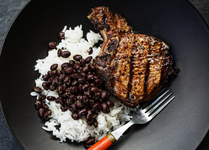 Do your pork chop the Jamaican way. (Photo: Jody Horton.)