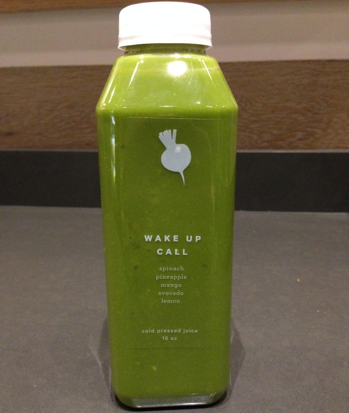 You won't even remember the spinach in this fruit juice. (Photo: Kate Burr.)