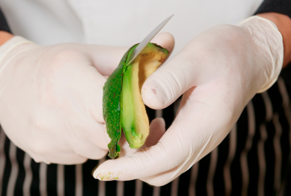 California Chefs Now Must Glove Up In The Kitchen. Why? It's The Law