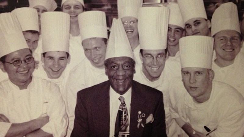 Bill Cosby In A Toque And 8 More Photos From The Andrew Carmellini Archives