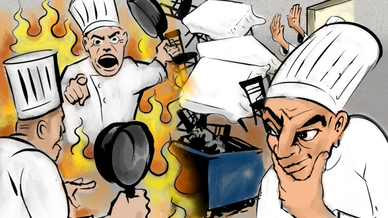 Infographic: The 10 Commandments Of Being An NYC Chef