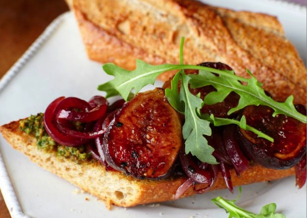 Drop the Fig Newton and try this sandwich. (Photo: Sara Remington.)