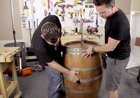 Video: Spare Wine Barrel Lying Around? Hack It Into A Beer Keg!   Food  Republic