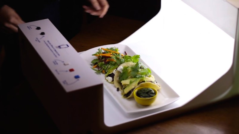 Chefs Are Going To Hate This: A Portable Photo Studio For Restaurant Instagramming