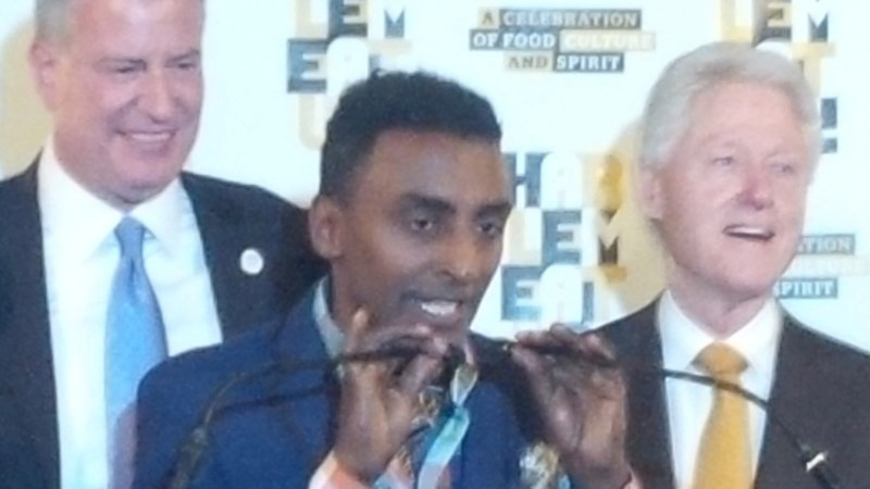 Marcus Samuelsson And Bill Clinton Are Partnering On A Harlem Food Festival