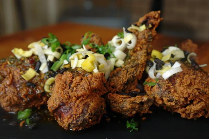 general tso fried chicken