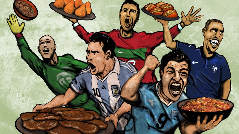 Food Republic World Cup Preview: 5 Brazilian Foods To Eat. 5 Players To Watch.
