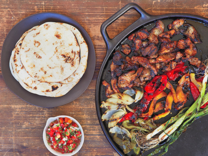 Oaxacan Grilled Pork Fajitas Recipe