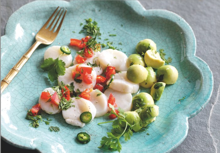 From The Sea: Ceviche De Vieira Recipe