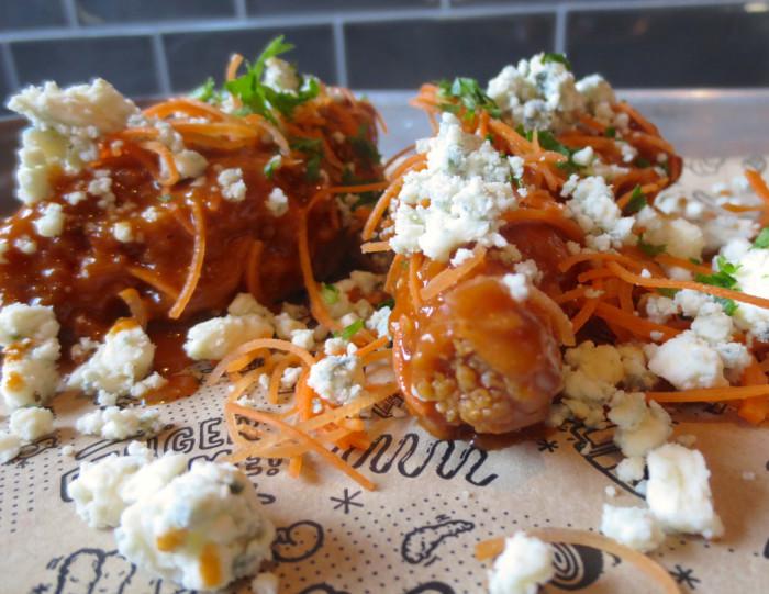 Buffalo Balsamic Maple Chicken Fingers Recipe