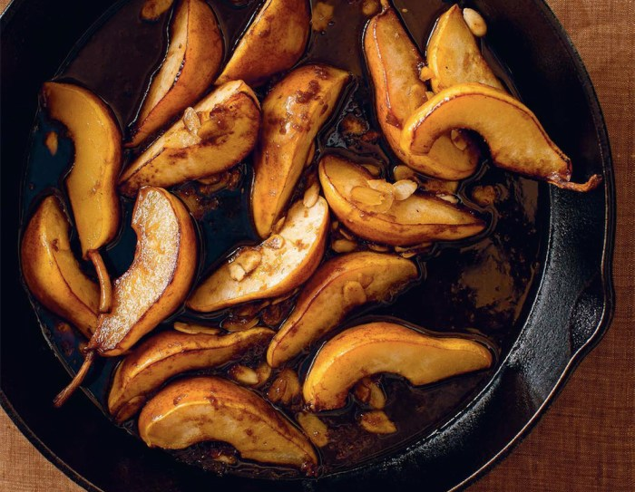 Roasted Maple Balsamic Pears Recipe