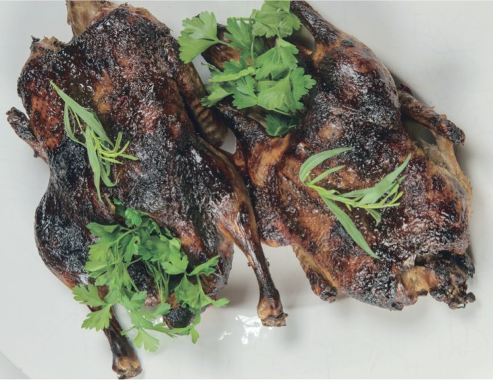 Roast Duck With Pomegranate And Walnut Sauce Recipe | Food Republic
