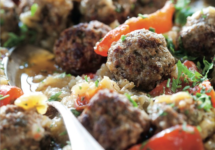 Jewish soul food beef and eggplant meatballs recipe food republic forumfinder Gallery